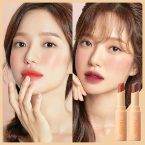 [Dallip] All Day Mood Lipstick Pink + Coral Set